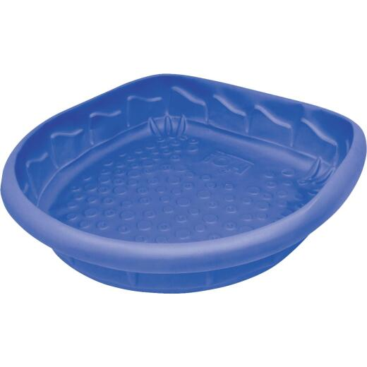 H2O 41 In. L. x 9 In. D. Blue Polyethylene D-Shaped Pool