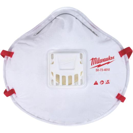 Milwaukee Disposable N95 Valved Respirator